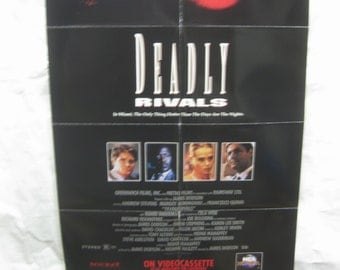 Deadly Rivals 1992 Movie Poster mp094