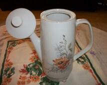 Mid Century Germany  Democradic Republic -CP Colditz Porcelain Coffee Pot