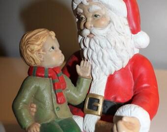 Vintage santa Shelf Sitters Item 2005