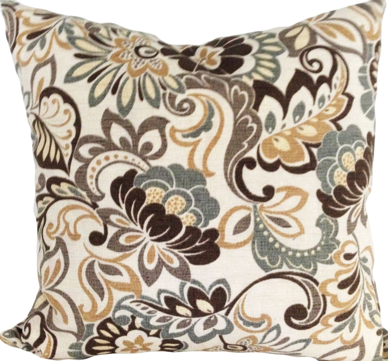 Floral Outdoor Zoe Decorative Pillow Cover Throw Pillow