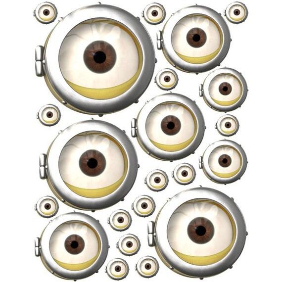 minion eyes printable bing images. Black Bedroom Furniture Sets. Home Design Ideas