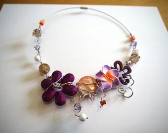 LIQUIDATION - Necklace Sunset 2
