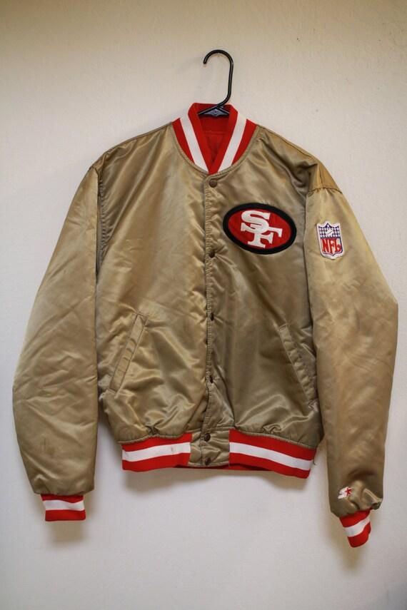 San francisco 49ers leather jacket
