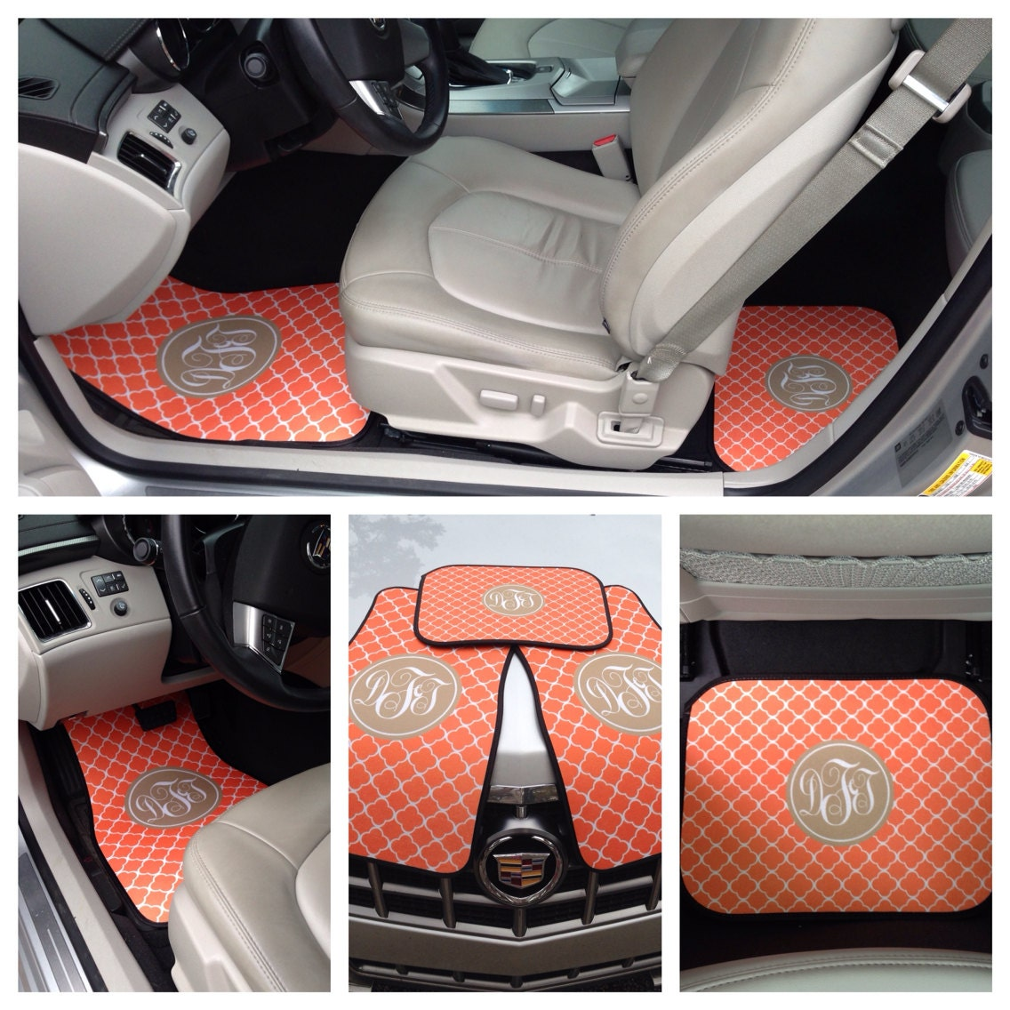 Monogrammed Car Floor Mats Monogrammed Car By