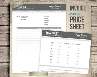Download Free Invoice Template Excel Photography Business Forms Invoice Form And Portrait Pricing Trust Receipt Meaning Excel with Florida Business Tax Receipt Word Invoice  Price Sheet Photography Business Form  Contract Form For  Photographers  Price List Invoice Invoice Html Template Pdf