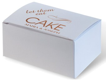 wedding cake boxes personalized wedding cake box etsy 22068