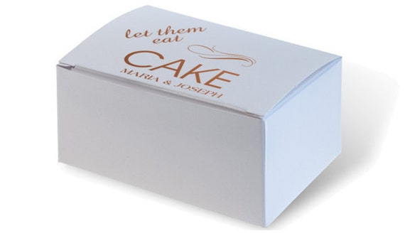 wedding cake boxes personalized personalized wedding cake boxes white 30 print colors to 22068