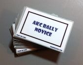 AKC Rally Novice Task Pack by Train 'Em Tasks - Pack of 73 cards -Rally Obedience, Rally-O dog training, dog obedience, Performance dog