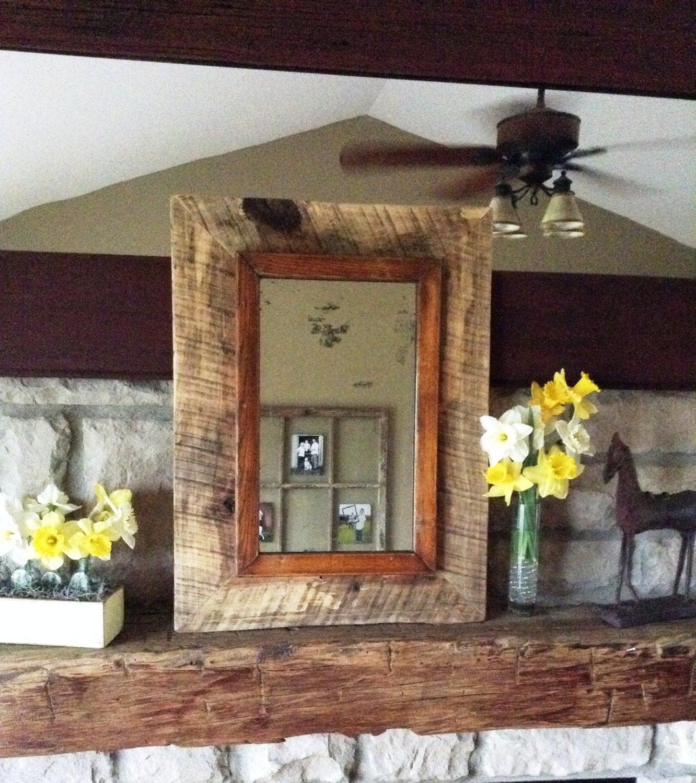 Price reducedhandmade barn wood framed antique for Price of reclaimed barn wood
