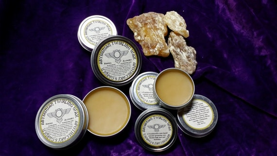 Abyssinian Twirling Wax -A  classic moustache & beard wax made with whole Frankincense Resin