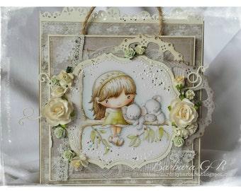 OOAK CandiBean gift bag with card