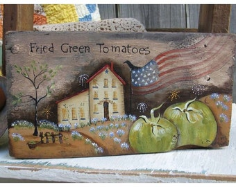 fried green tomatoes    Terrye French email pattern packet