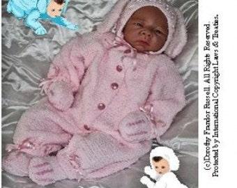 Baby Bunnies - Hand Knit Pattern