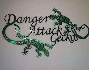 Danger Attack Geckos