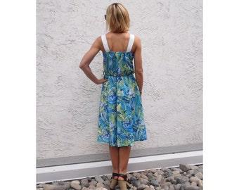 50's Style Floral Tea Dress