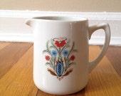 Vintage Scandinavian Folk Art Creamer