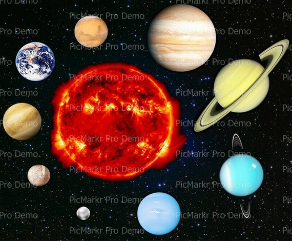 solar system cake toppers - photo #7