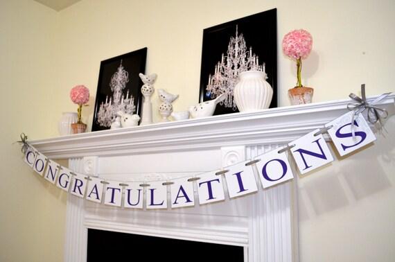 Wedding decorations jobs all the best ideas about marriage congratulations banner congrats sign wedding garland junglespirit Choice Image
