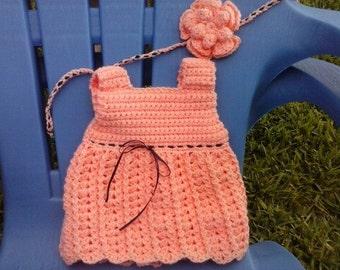Peach Baby Dress