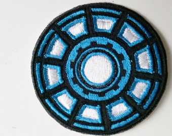 Iron Man 1 Arc Reactor Patches
