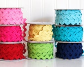 Ric Rac Riley Blake 3/4 inch Rick Rack Choose Your Color- 3 yards
