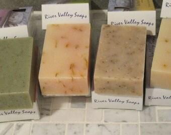 Natural Organic Soaps 4 PACK