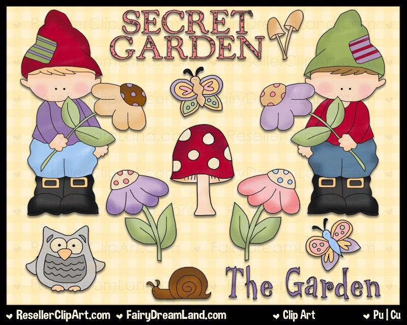 free garden gnome clipart - photo #14