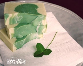 Back soon! Irish spring - SOAP spa with essential oils of eucalyptus, peppermint and lime