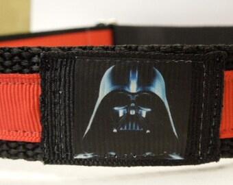 Darth Vader Style Dog Collar/Star Wars/Adjustable