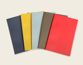 Simple Notebook / 5 color / blank Notebook / Grid Notebook / Rulled Notebook / Stitch Notebook / 101076858