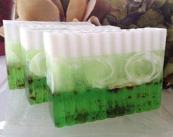Eucalyptus Mint Soap - Glycerin Soap - Soap for Men - Fathers Day Gift - St. Patricks Day Gift