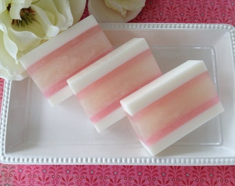 White Magnolia Soap - handcrafted glycerin soap