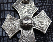 Crooked Sterling Silver Cross