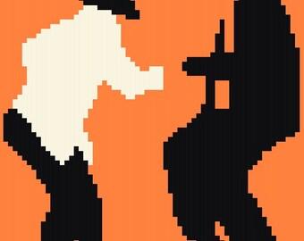 Pulp Fiction - Cross Stitch Pattern - Instant Download