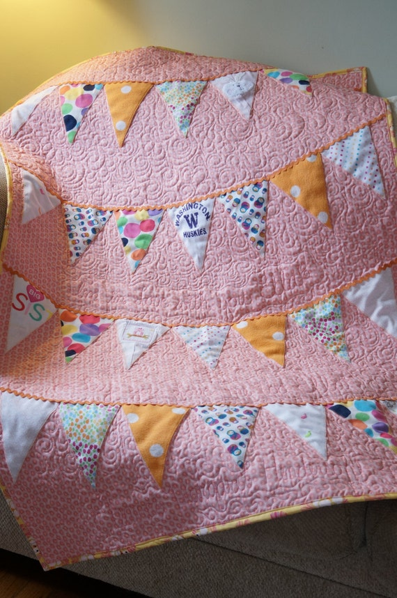 Items similar to Baby Clothes Quilt - Made to Order ...