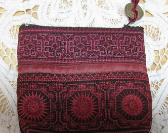 Thailand Hmong Embroidered Coin Purse