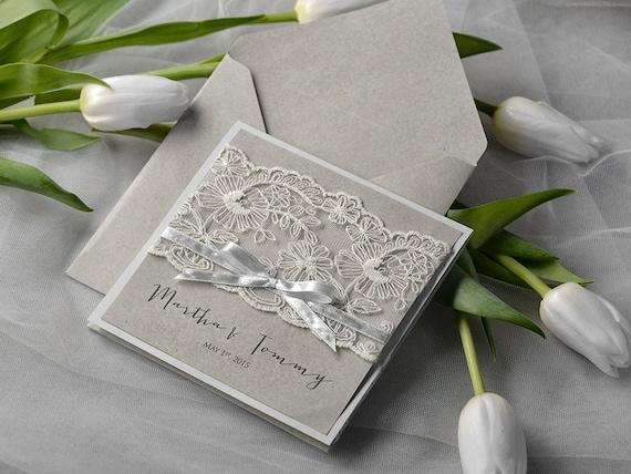 Connu Faire part dentelle et perle - Page 2 - Avant le mariage - Forum  VB08