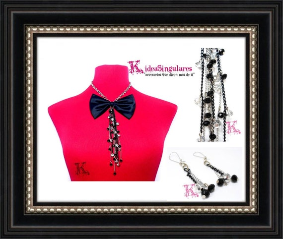 Feminine bow tie accessories night luxury party grade