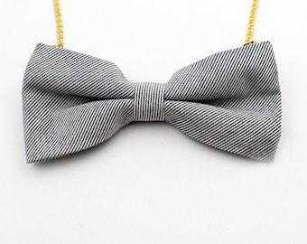 Bow tie Necklace,Handmade,bow tie,kitsch,super cute