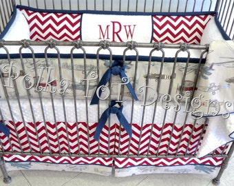 Red Baron  Baby Bedding