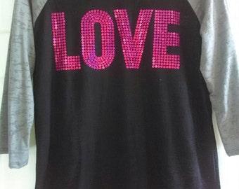 LOVE Burnout Shirt