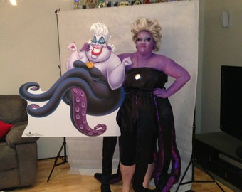 Ursula costume - Sea Witch little mermaid Ariel inspired, Octopus Legs Made to Order