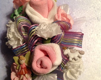 Fairy tale baby girl corsage