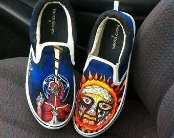Sublime/Tool custom shoes