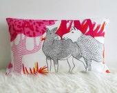 "Nordic Muse Decorative Designer Cotton Cushion Cover 28x48 cm (11""x19"")"