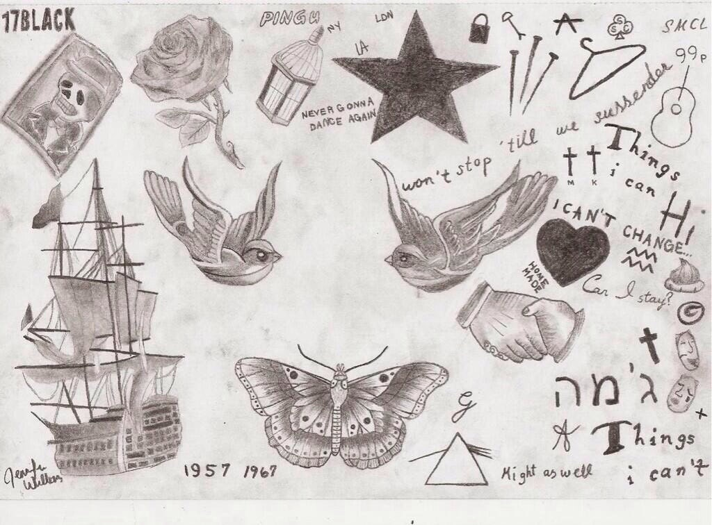 Harry Styles Butterfly Drawing Drawing of Harry Styles'