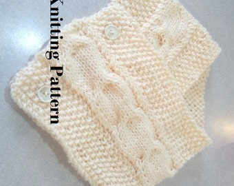 Knitting Pattern For Collar Scarf : Cowl pattern knit Etsy