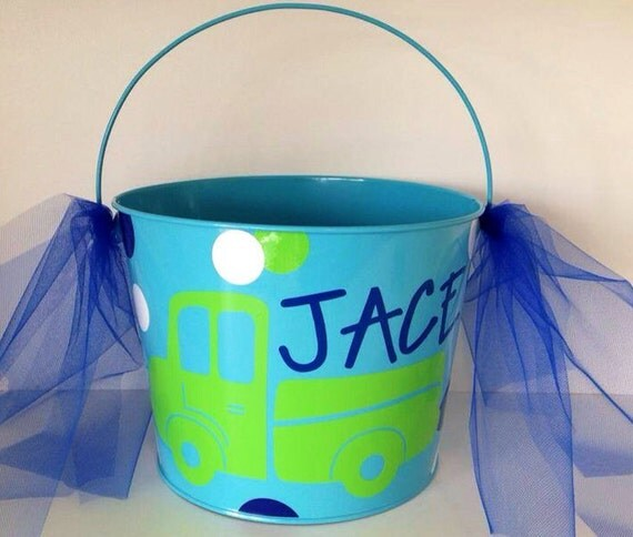 Bridal Shower Gift Basket Climbing On House Halloween: Items Similar To Children's Personalized Monogrammed