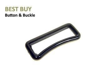 """10 pcs Plastic Curved Belt Loops 1"""", 1 1/2"""", 2"""" #PH393"""
