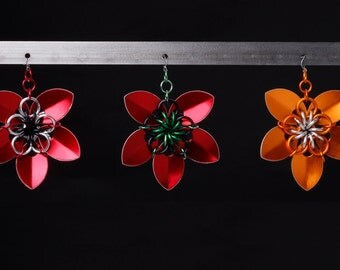 Colorful Flower pendant